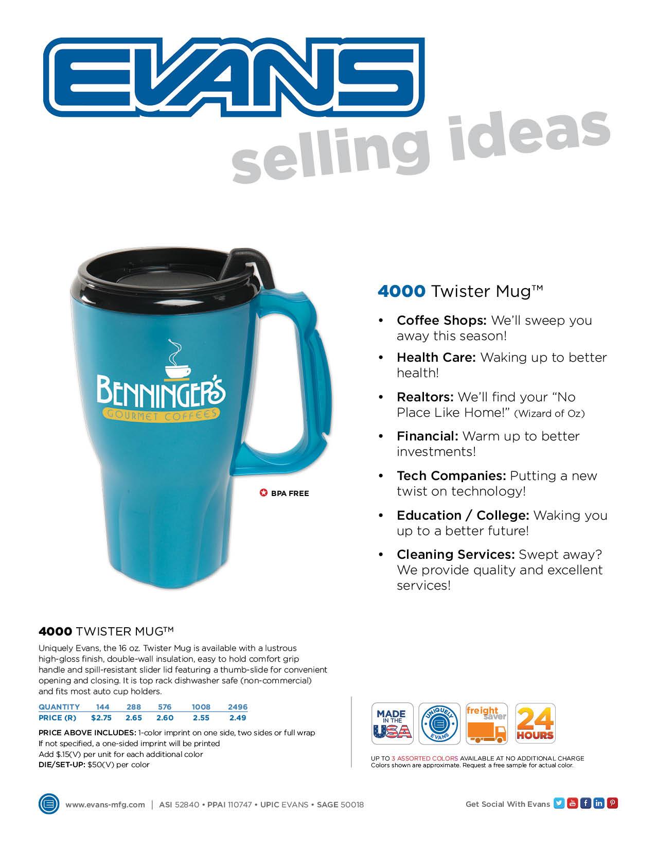 4000 Twister™ Mug