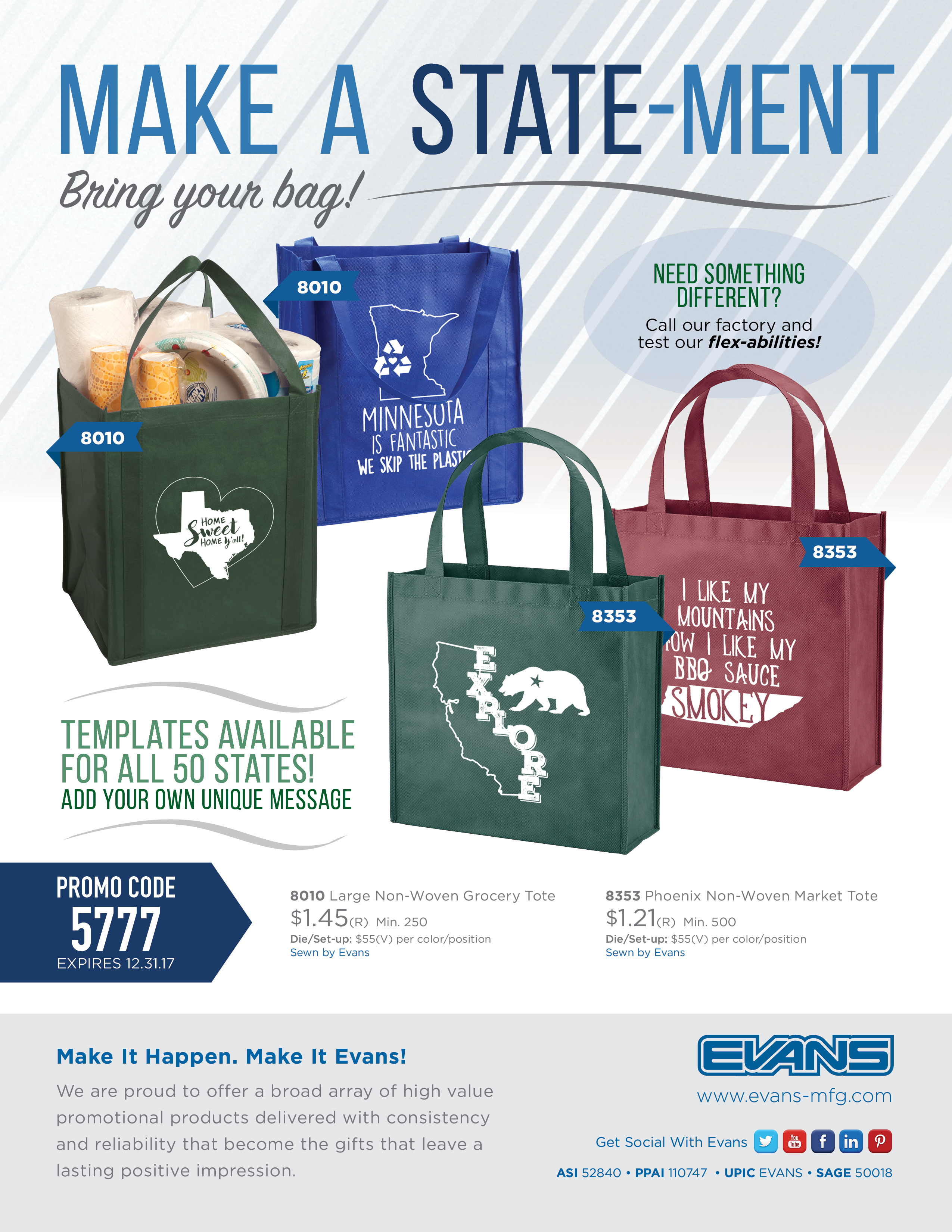 State-Ment Bag Promo