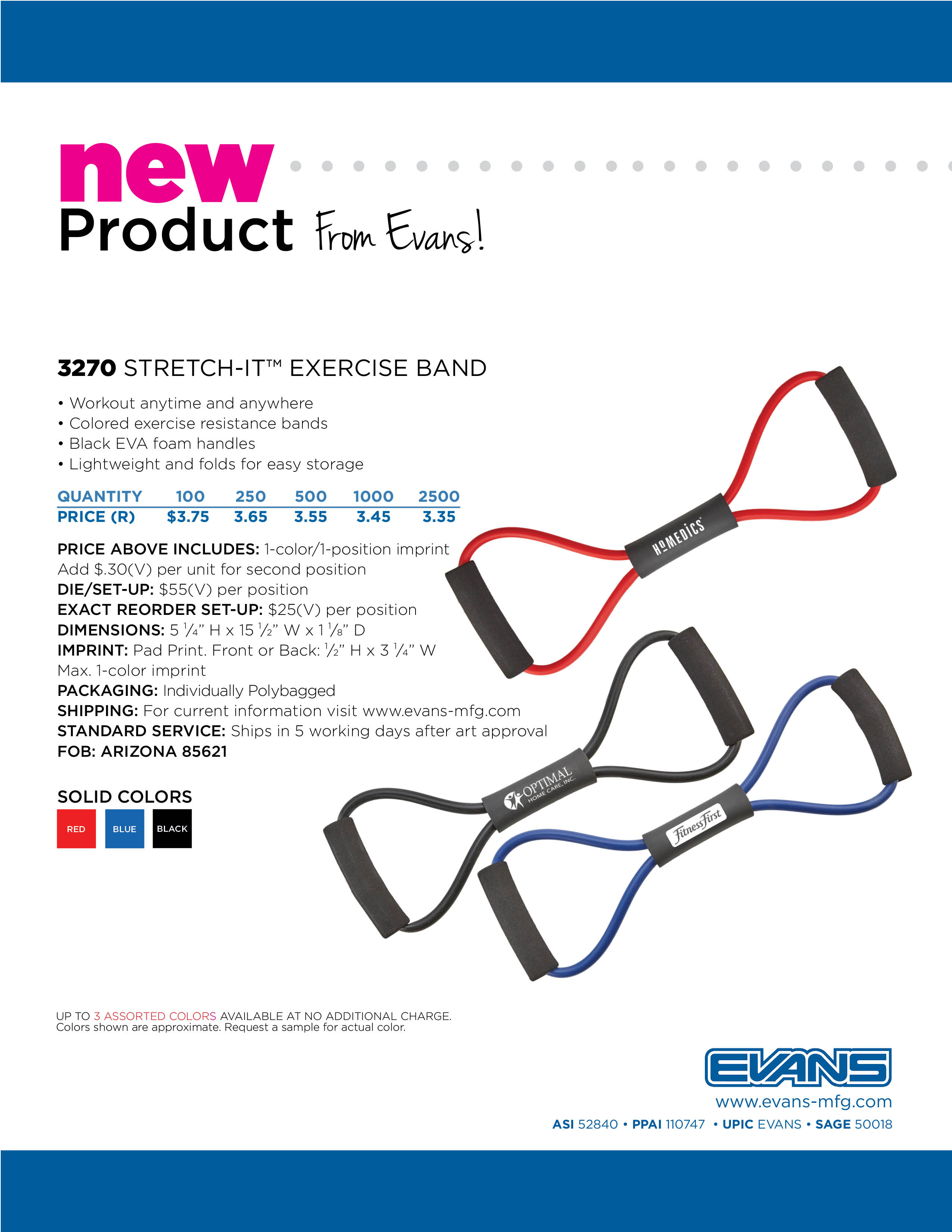 3270 Stretch-It™ Exercise Band