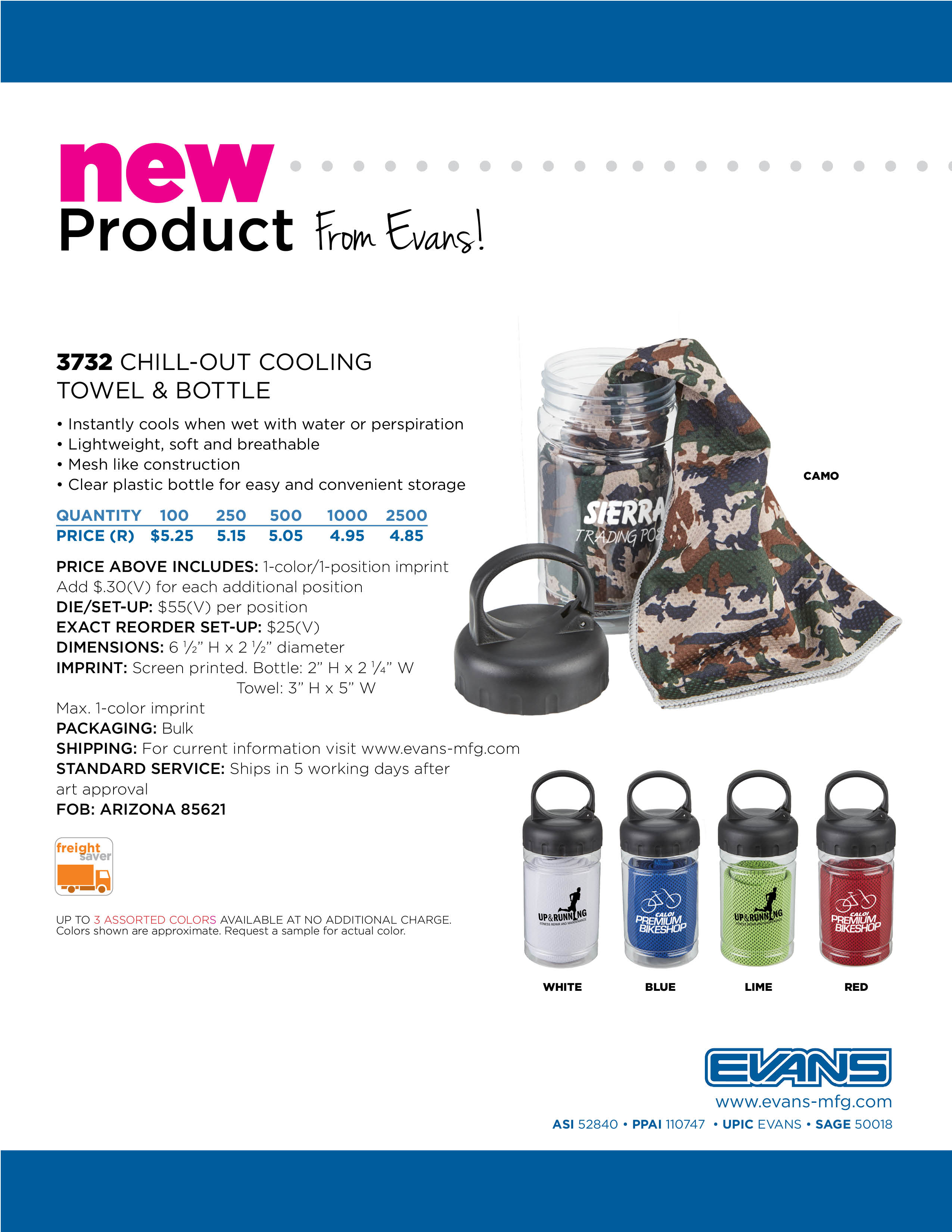 3732 Chill_Out Cooling Towel & Bottle