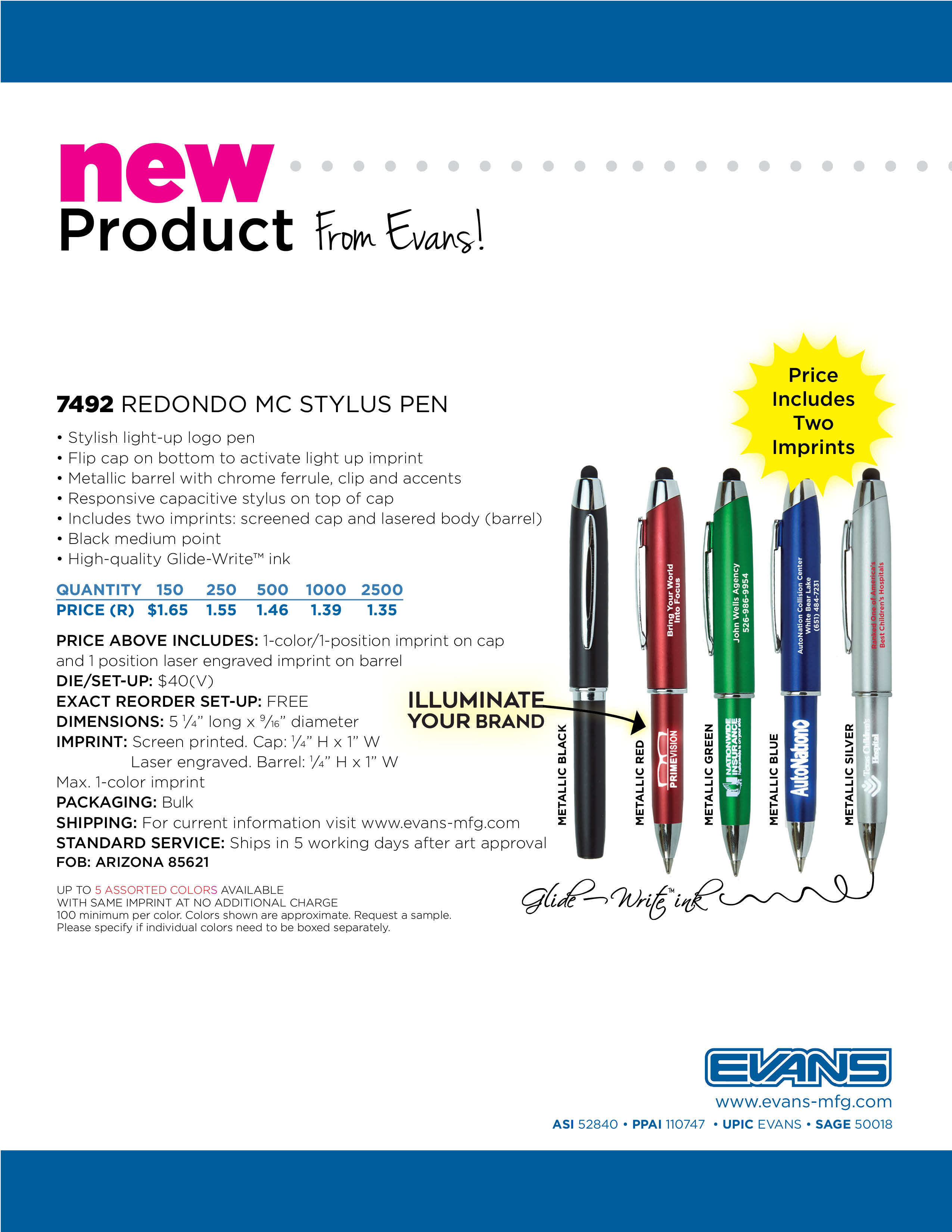7492 Redondo MC Stylus Pen