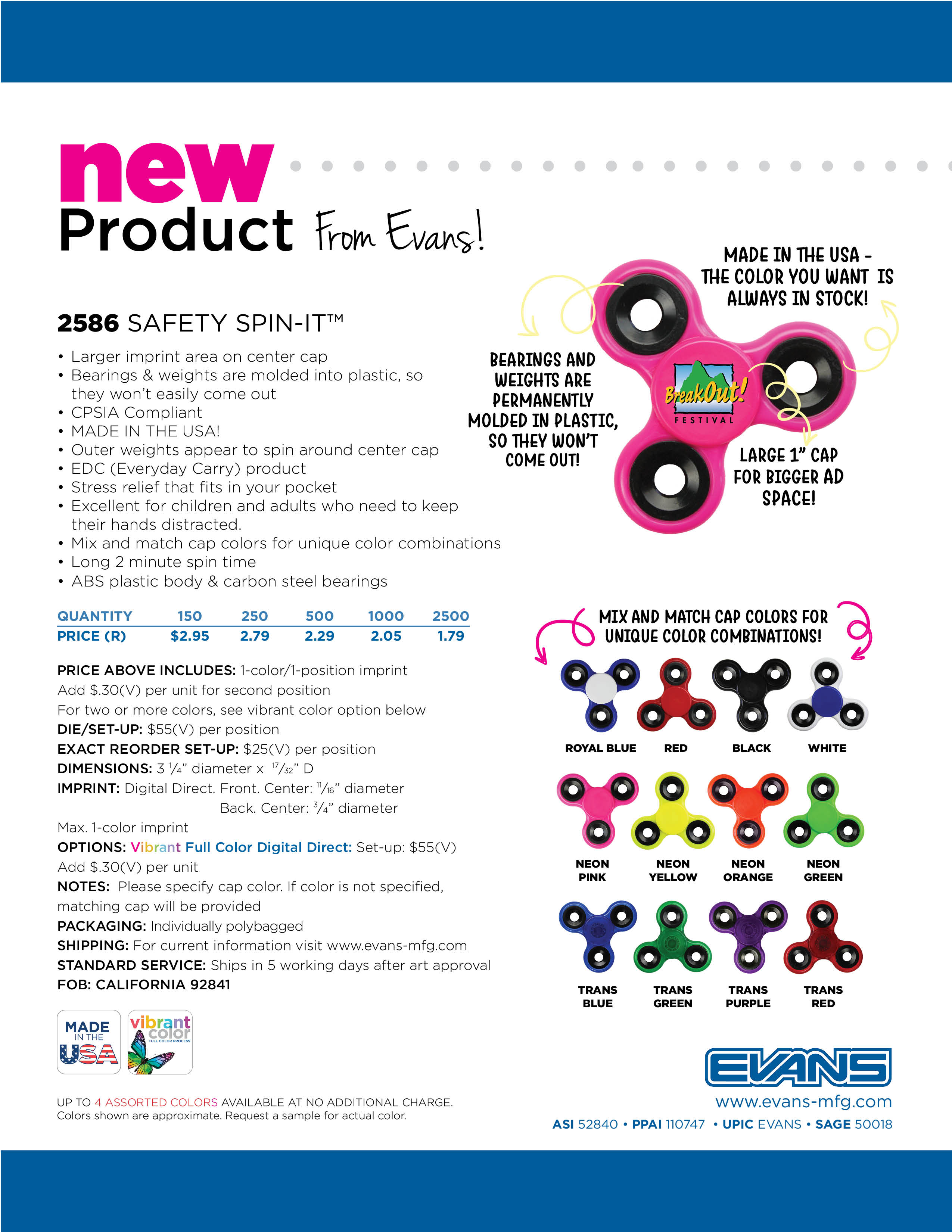 2586 Safety Spin-It™