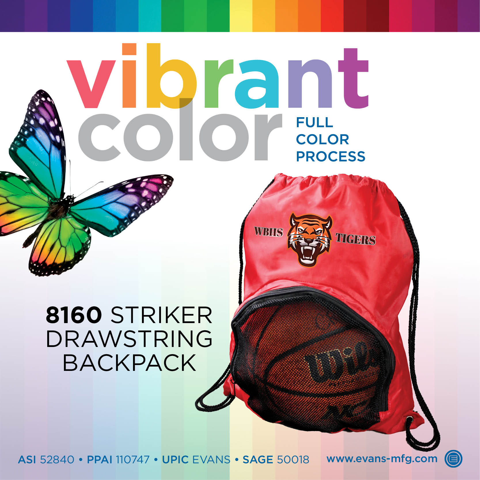 8160 Striker Drawstring Backpack VD