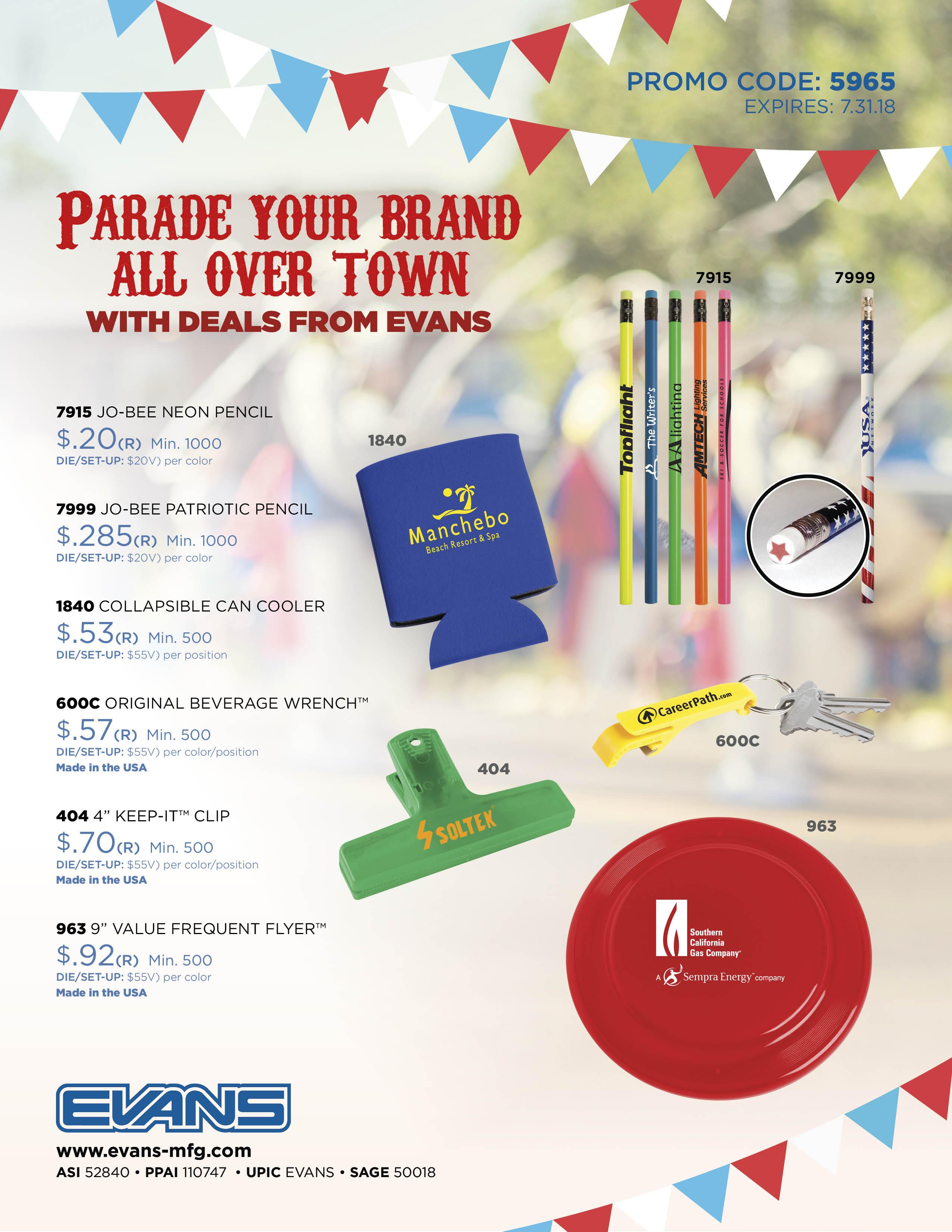 Parade Your Brand