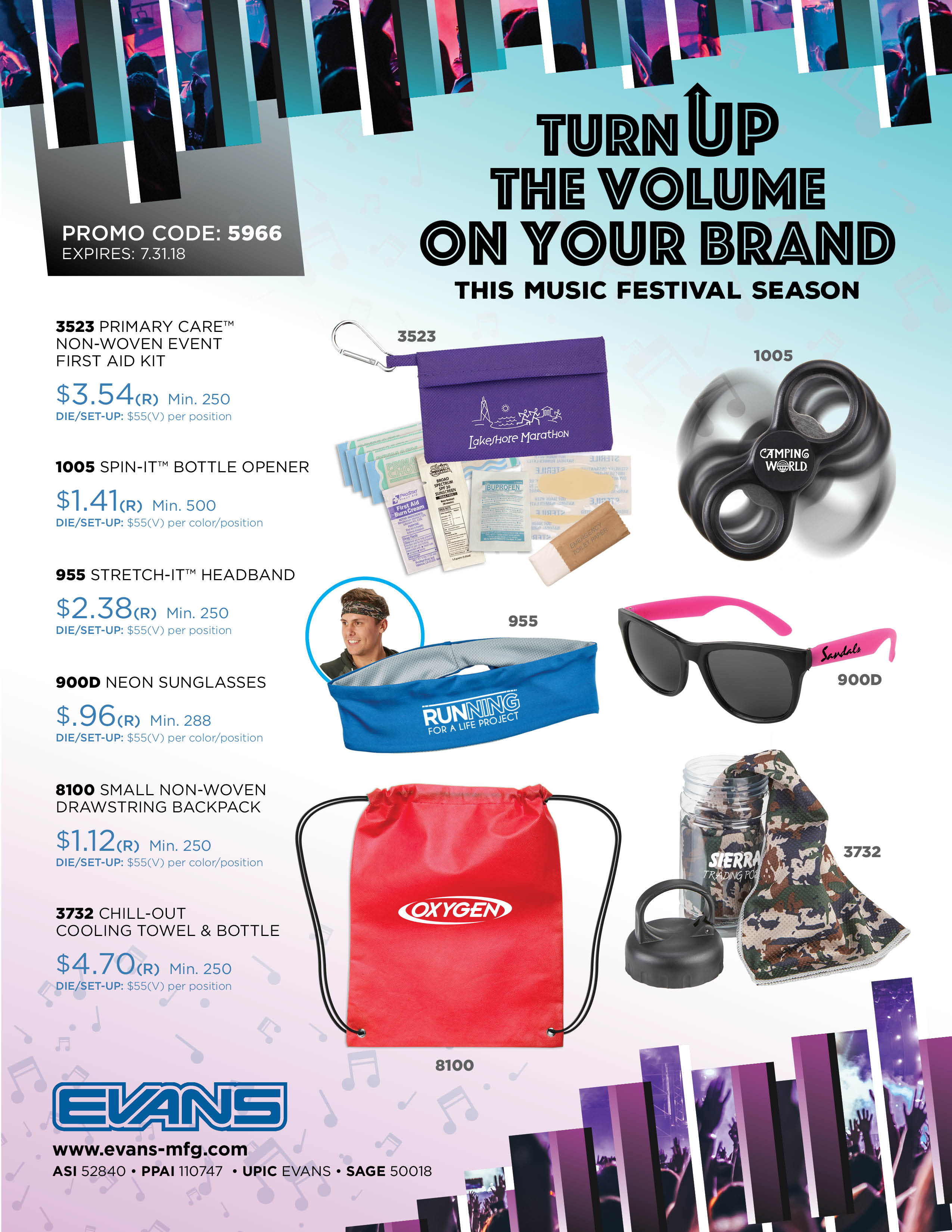 Music Festivals - Turn Up the Volume on Your Brand