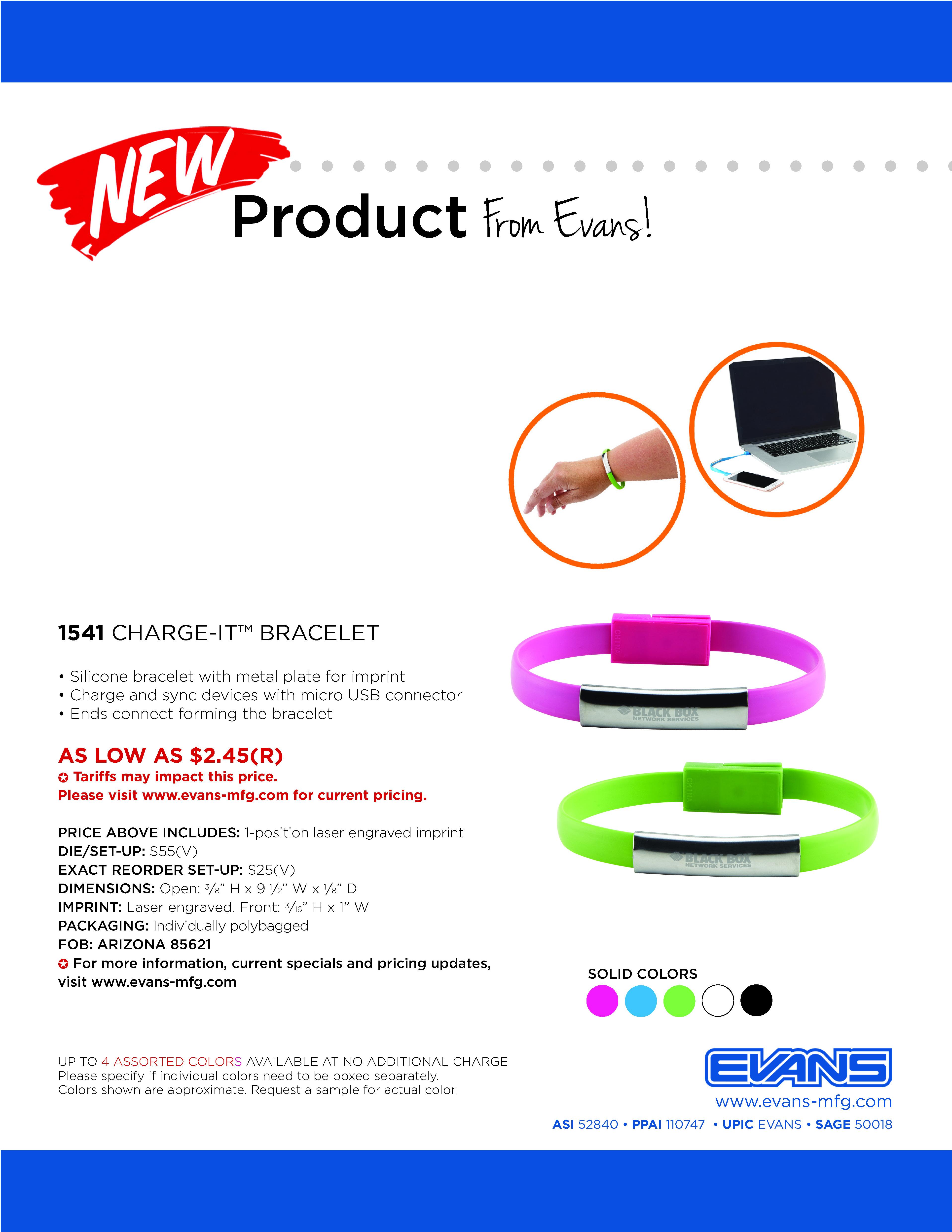 1541 Charge-It™ Bracelet