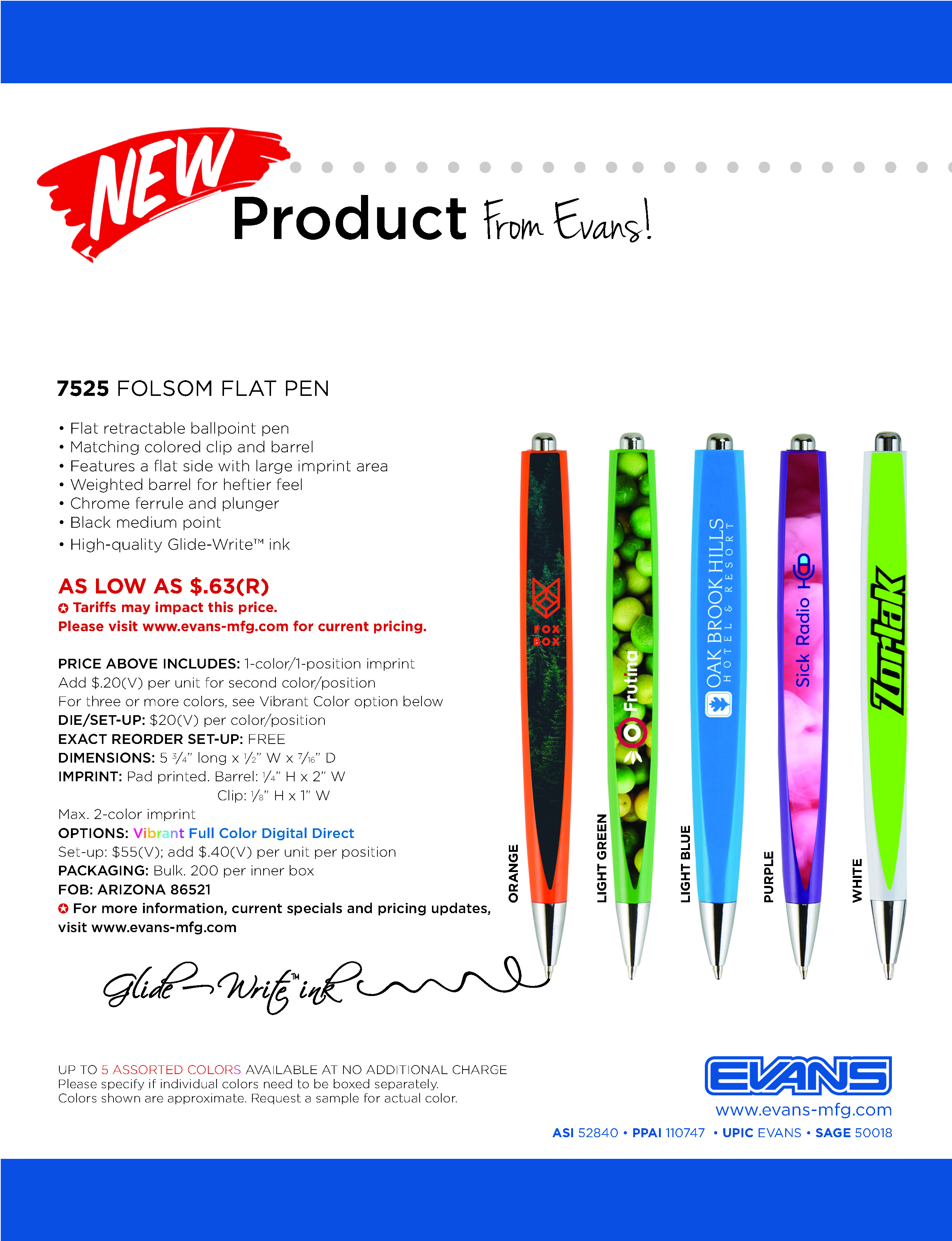 7525 Folsom Flat Pen