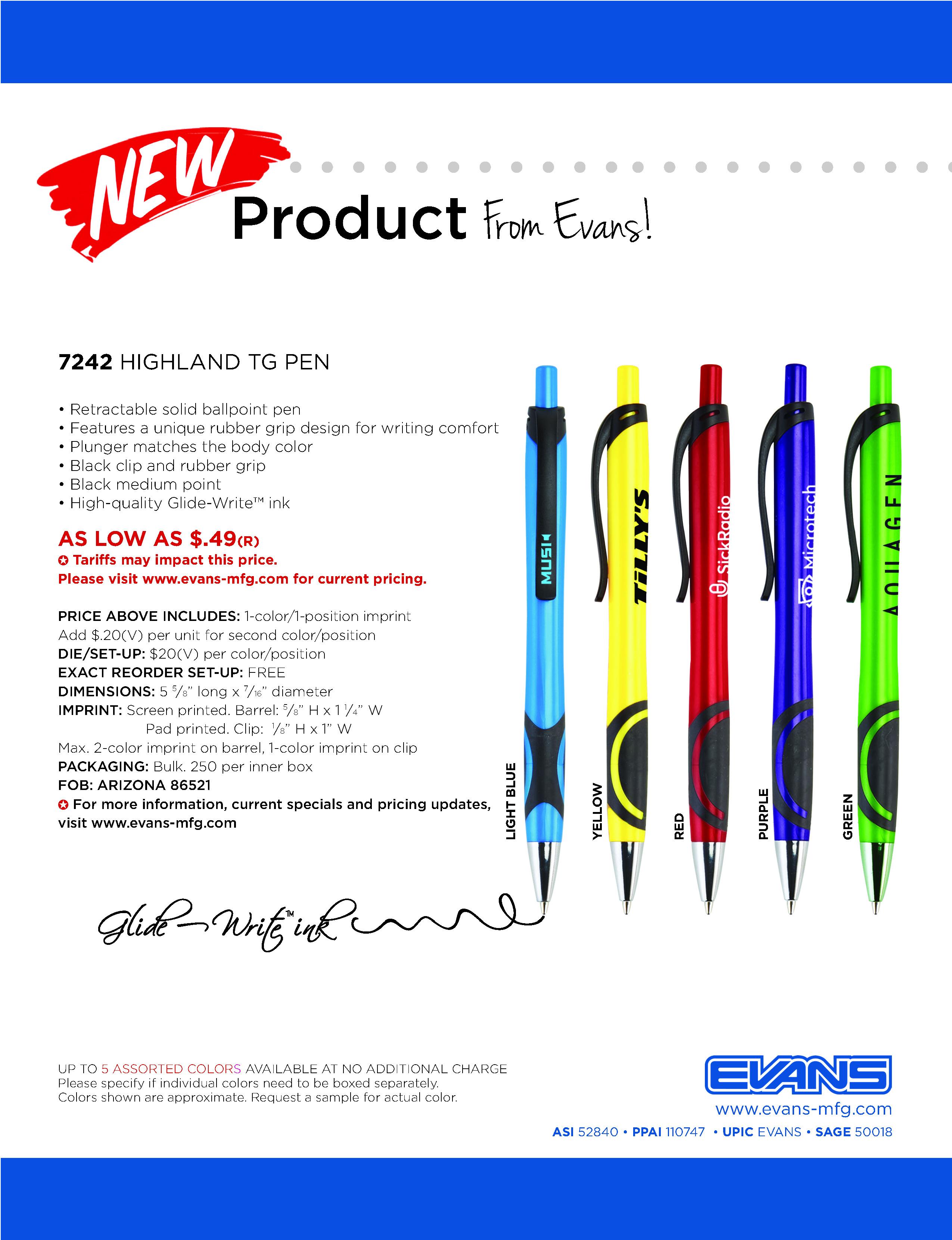 7242 Highland XG Pen