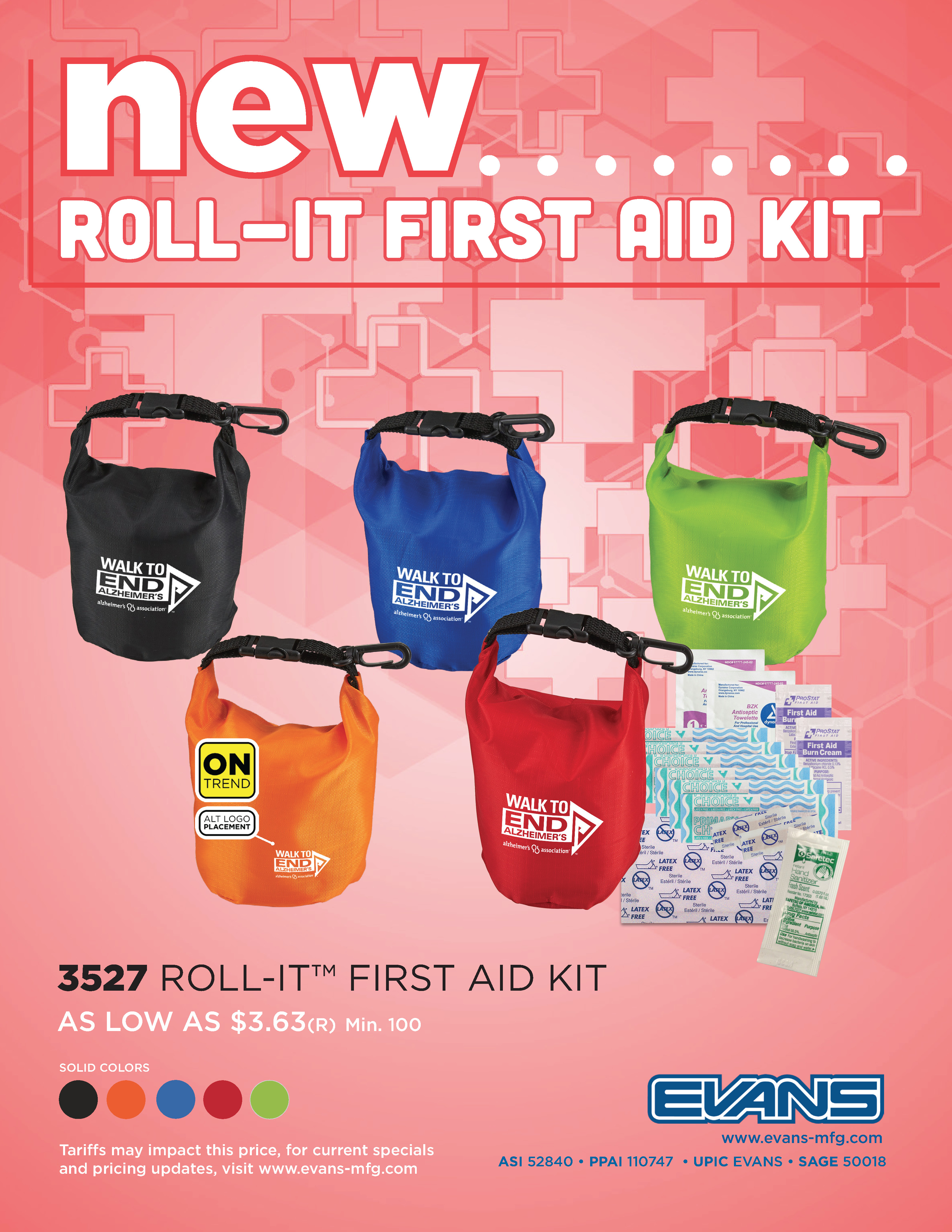 New Q3 First Aid Kit