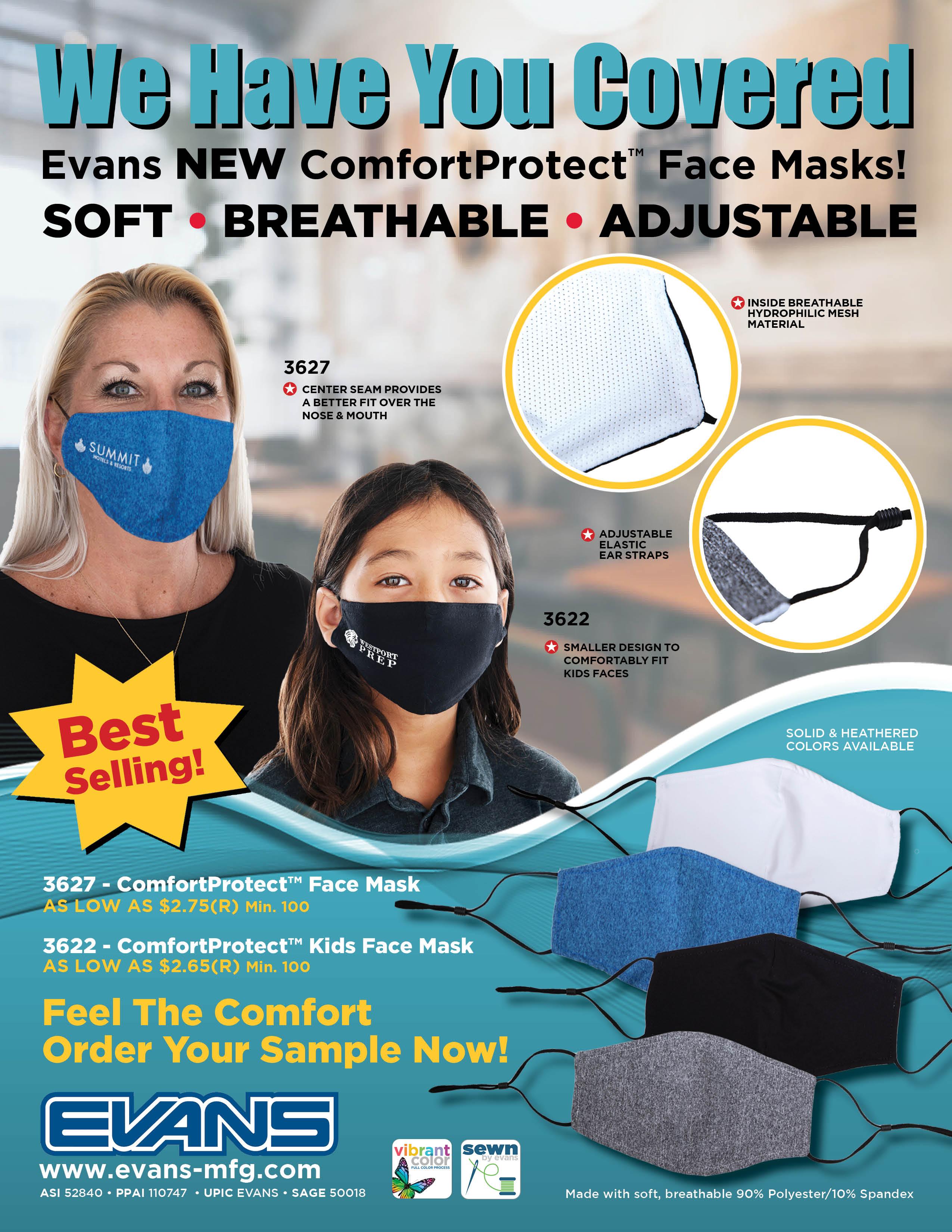 ComfortProtect Face Masks
