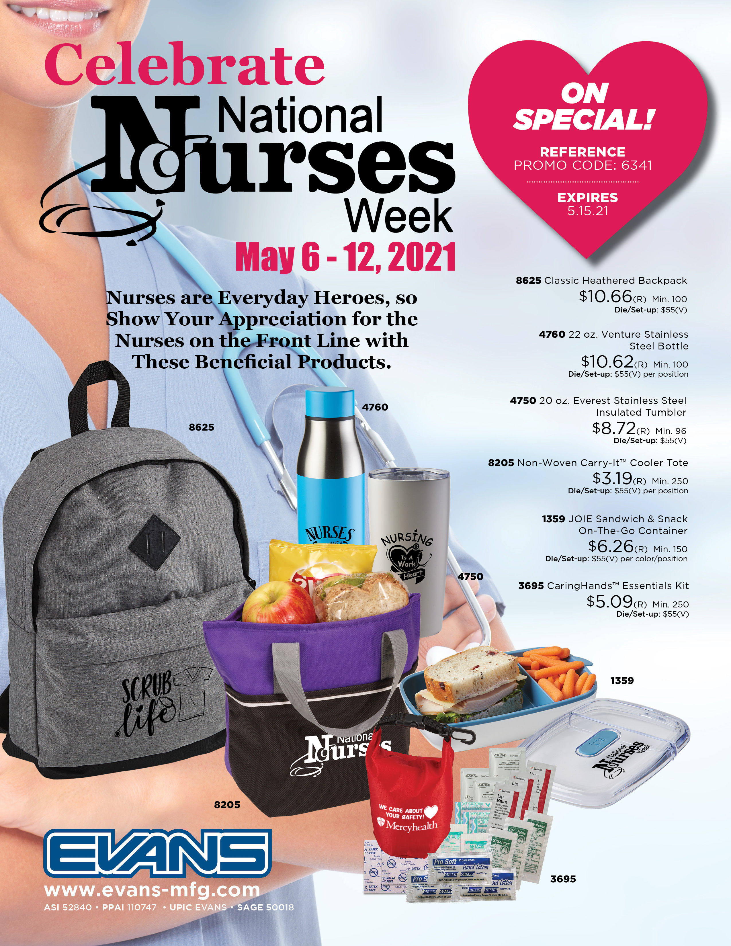 Nurses Week Flyer